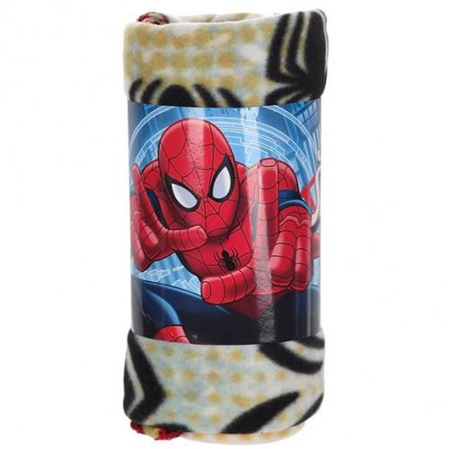 Поларено одеяло Спайдърмен