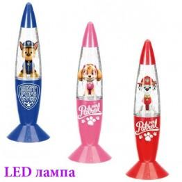LED лампа Paw Patrol