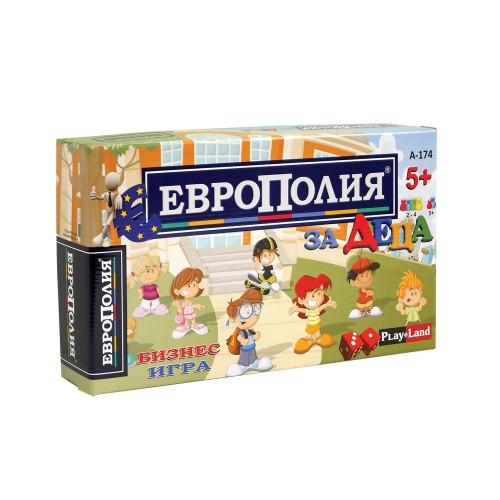 Образователна игра Европолия за деца