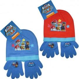 Шапка с ръкавици Paw Patrol