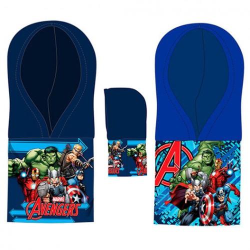 Шапка-шал 2в1 Avengers