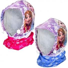 Шапка-шал 2в1 Frozen