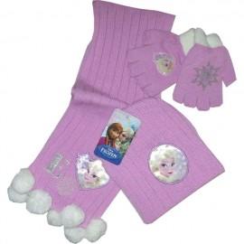 Шапка, шал и ръкавици Frozen