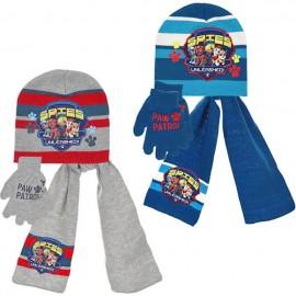 Шапка, шал и ръкавици Пес Патрул