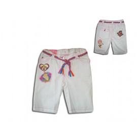 Бели 3/4 панталонки Барби