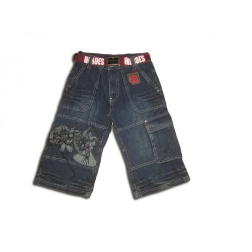 Дънкови панталонки с героите на Марвел