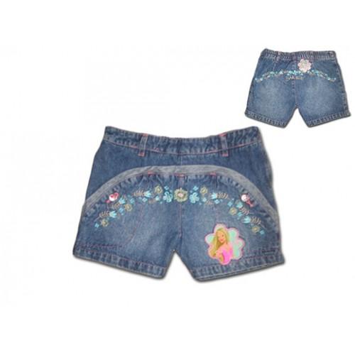 Къси дънкови панталонки с Барби - модел 1