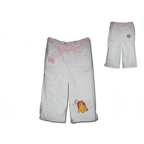 Бели дънкови панталони с малкото пони