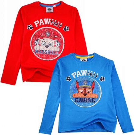 Блуза Paw Patrol пайети