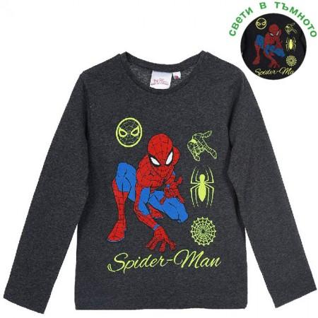 Светеща блуза Спайдърмен