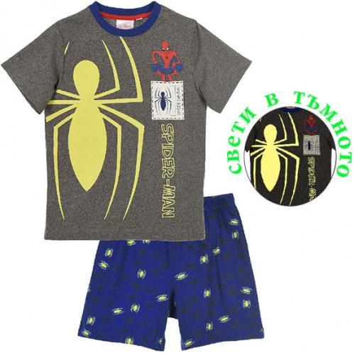 Светеща пижама Спайдърмен