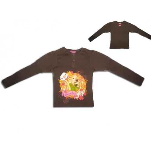 Разкошна блузка с Барби с буфан ръкав
