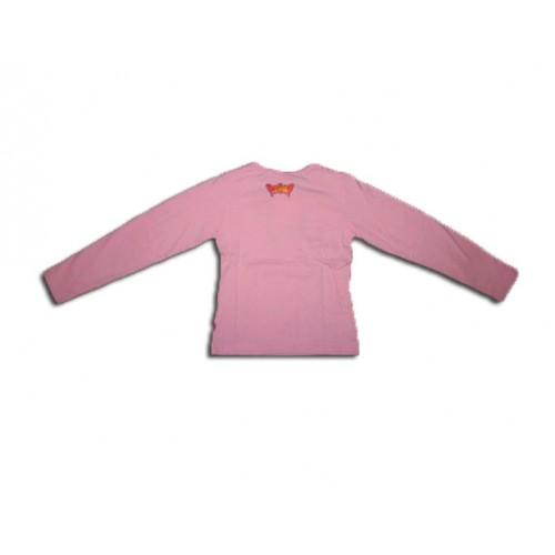 Кокетна блуза с Барби с пайтети и панделки