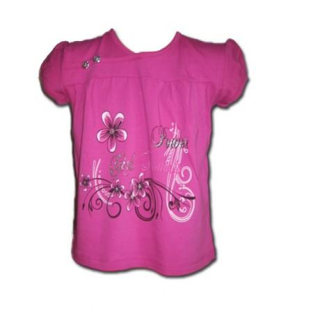 Красива блуза с нежни цветя