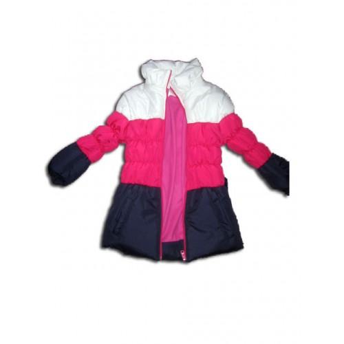 Разкошно дебело яке в преливащи цветове