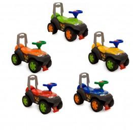 Детска кола Дино за яздене и бутане