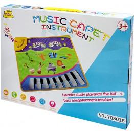 Музикално килимче с мелодии