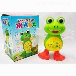 Танцуваща жабка на бълг. език