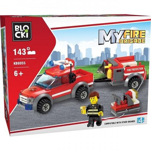 Конструктор пожарна 143 ел.