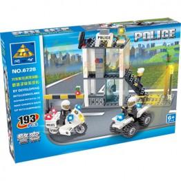 Конструктор полиция 193ел.