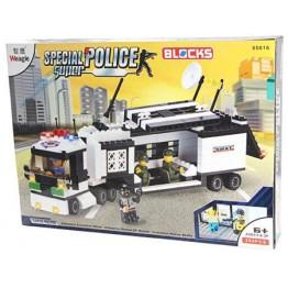 Полицейски конструктор камион 299ел.
