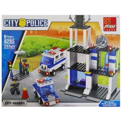 Конструктор City Police 252ел.