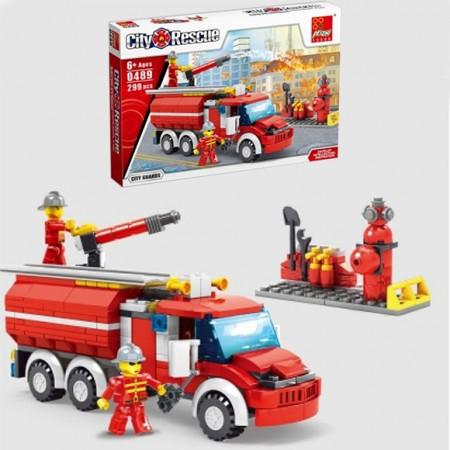 Конструктор City Rescue 299ел.