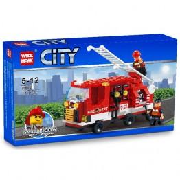 Конструктор пожарна 171 ел.