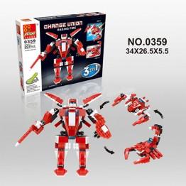 Конструктор робот 3 в 1