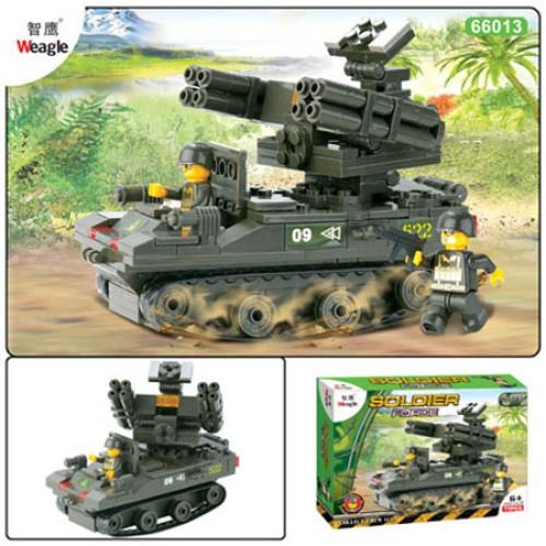 Военен конструктор танк 214 ел.