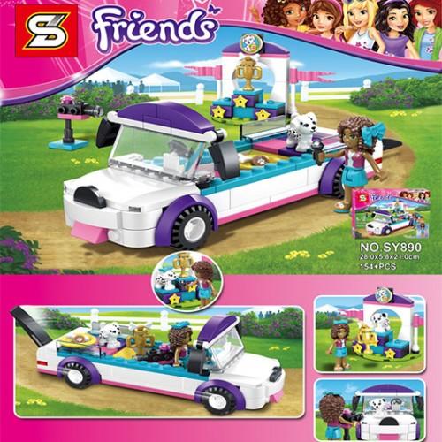 Детски конструктор Friends кола