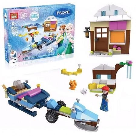 Строител Frozen 205 ел.