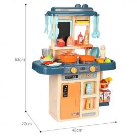 """Детска кухня с ефект """"пара"""" и течаща вода"""
