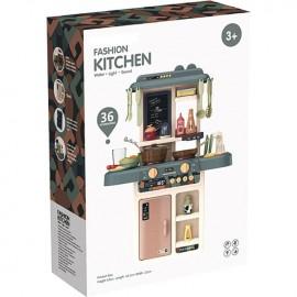 Детска кухня с течаща вода, звук и светлина