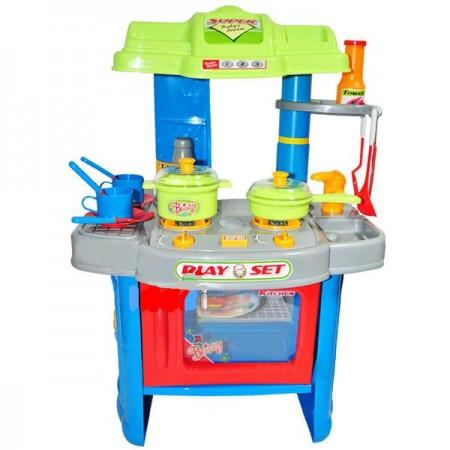 Намалена синя детска кухня
