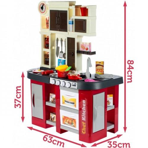 Голяма червена кухня