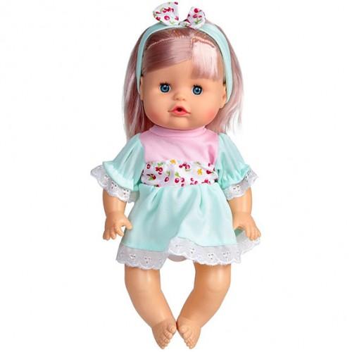 Пишкаща кукла Биби на български език