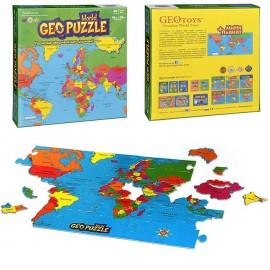 Пъзел карта на света