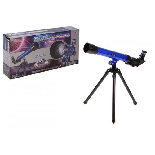 Телескоп с триножник и компас