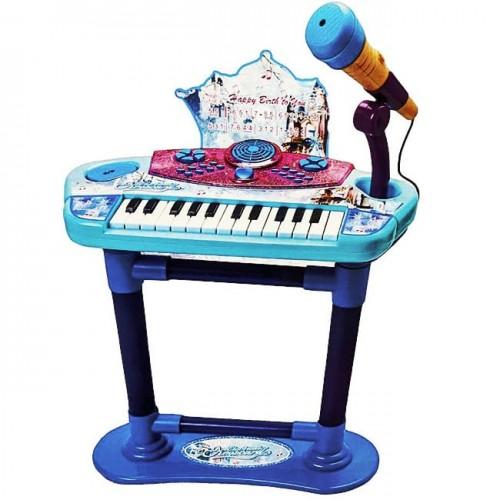 Детско пиано с микрофон и стол