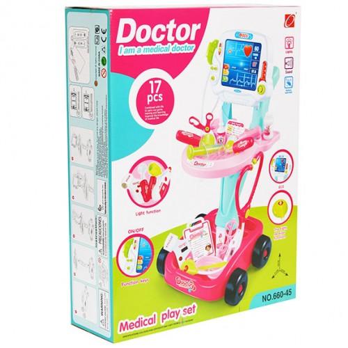 Комплект доктор на батерии с ЕКГ