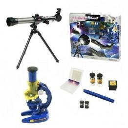 Комплект телескоп и микроскоп