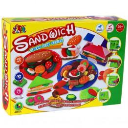 Фабрика за сандвичи от пластилин