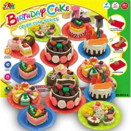 Фабрика за торти от пластилин