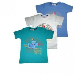 Тениска WatchMe с подводница и акула