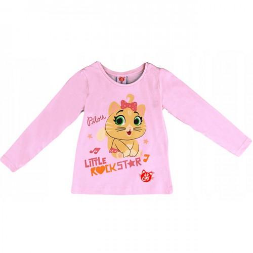 Блуза 44 Котки